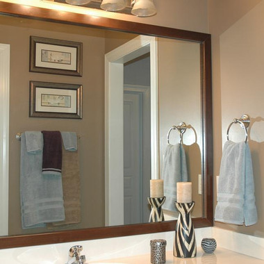 Bathroom Mirror Frames | Bathroom Vanity Mirror Frame | Custom Sizes ...