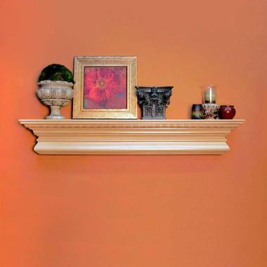 Fireplace mantel shelves mantel shelf manorville - Types fireplace mantel shelves choose ...