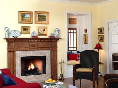Wood Fireplace Mantel | Fireplace Mantels | Colonial | MantelCraft