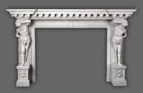 The Hercules #350 Greco Roman Mantel
