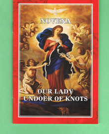Mary, Undoer of Knots Novena Booklet with Medal