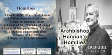 Archbishop Hannan's Homilies on CD
