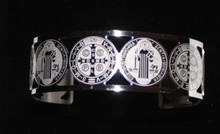 St. Benedict Cuff Bracelet