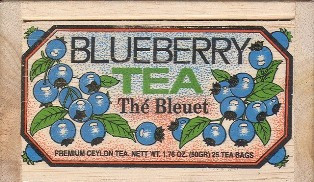 Blueberry Tea Bags
