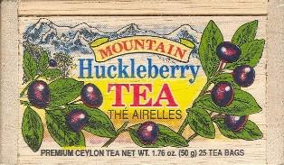 Mountain Huckleberry Tea Bags