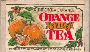 Orange Spice Tea Bags