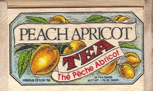 Peach Apricot Tea Bags