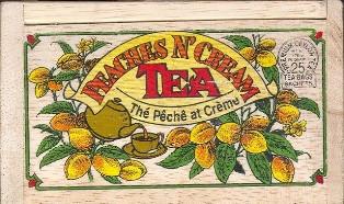Peaches N Cream Tea Bags
