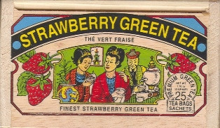 Strawberry Green Tea Bags