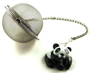 Mesh Ball Tea Infuser - 2 inches - Panda Bear Design