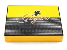 Columbo Yellow Cigar Humidor