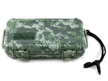 Cigar Caddy Camouflage 5 Stick Travel Cigar Humidor