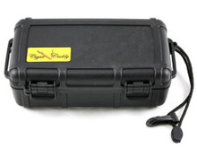 Cigar Caddy Black 10 Stick Travel Cigar Humidor
