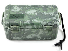 Cigar Caddy Camouflage 15 Stick Travel Cigar Humidor