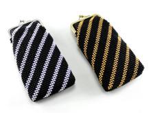 Black Stripe Cigarette Pack Holder