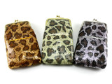Glimmering Cheetah Cigarette Pack Holder