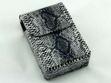 BW Snakeskin Cigarette Pack Holder