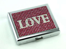 Ruby Love Cigarette Case