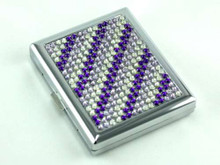 Purple Mist Stone Cigarette Case