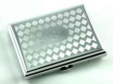 Silver Money Cigarette Case