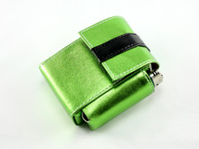 Metallic Green Cigarette Pack Holder