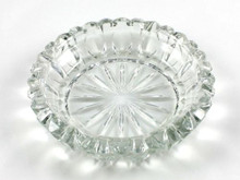 Nolan Glass Cigarette Ashtray