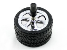 Wheel Spinning Cigarette Ashtray