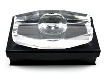 Julius Crystal Cigar Ashtray