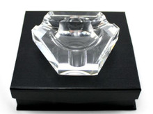 Griffin Crystal Cigar Ashtray