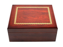 Madison with Brown Cigar Humidor Gift Set