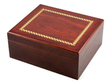 Madison with Black Cigar Humidor Gift Set