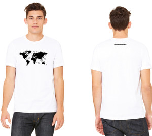 World Map Jersey Cotton Tee