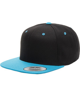 Flat Brim Snapback Cap