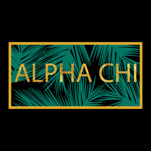 Alpha Chi Palm Leaves