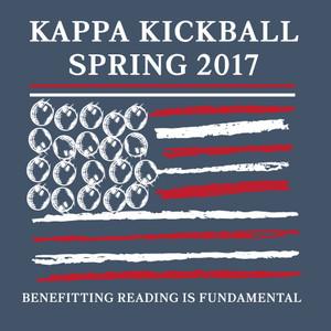 Kappa Kickball Comfort Colors Pocket Tee