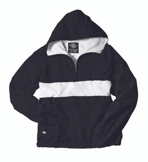 Classic Charles River Striped (CRS) Pullover Jacket