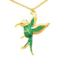 Beautiful Antique Hummingbird Sweater Necklace for Women