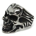 Devil's Skull Stainless Steel Ring