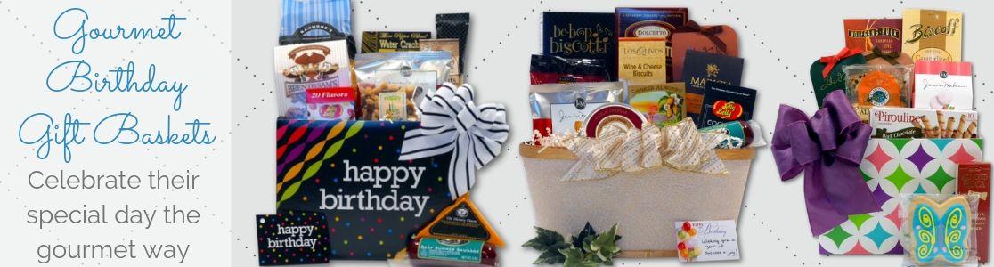 Gourmet Birthday Gift Baskets