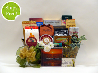 Thinking of You Sympathy Gift Basket qualifies for free shipping!