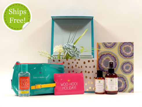 Happy Jackson Women's Travel Gift Box qualifies for free shipping!
