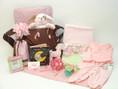 Polka Dot Precious Baby Girl Diaper Bag Gift features stylish Jimeale diaper bag