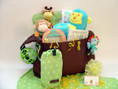 Animal Friends Baby Gift with Diaper Bag
