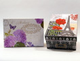 Choose pastel floral or black and red Eiffel Tower box