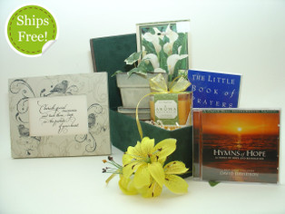 With Sympathy Gift Basket qualifies for free shipping!