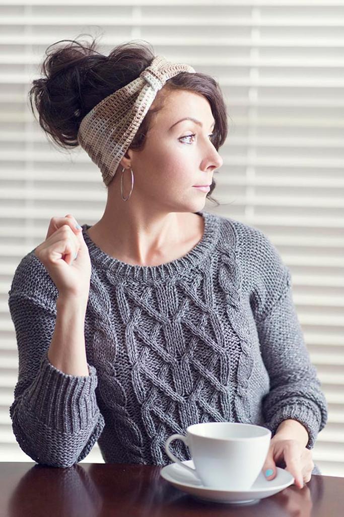 Free Crochet Latte Headband Pattern - Expression Fiber ...