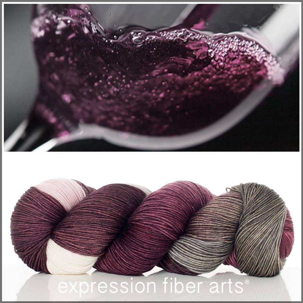 WINE NOT 'RESILIENT' SUPERWASH MERINO SOCK