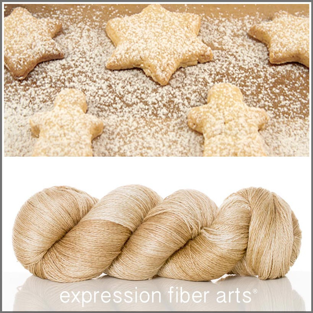 POWDERED SUGAR COOKIES YAK SILK LACE YARN