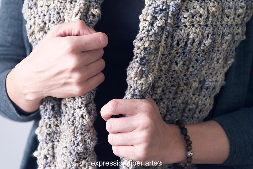 Bubbly Crochet Cowl Pattern