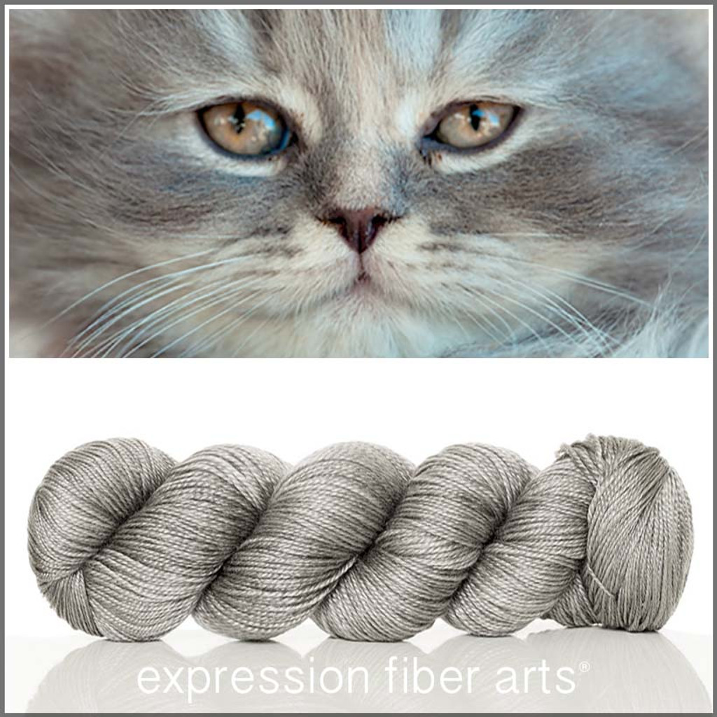 KITTEN 'LUSTER' SUPERWASH MERINO TENCEL SPORT